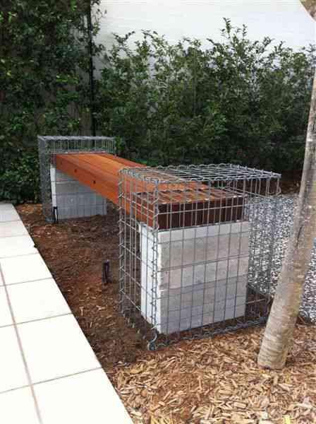 gabion seat, gabion cages, urban kubez