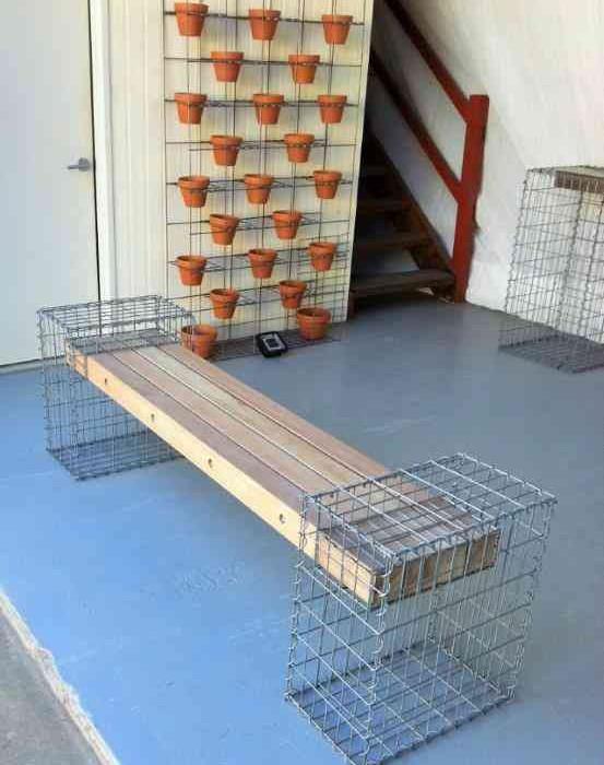 Gabion Cage Gabion Furniture Gabion Seat Defined Style (13)