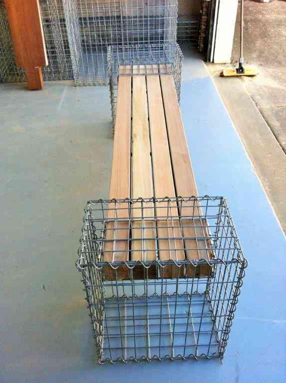 Gabion Cage, Gabion Seat, Gabion Furniture Gabion Seat, Urban Kubez
