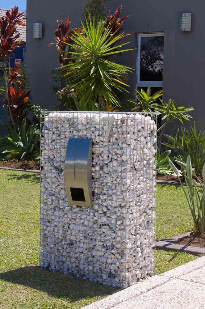 Gabion Letterboxes