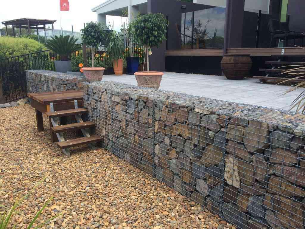 Gabion Cages, gabion baskets, gabion retaining wall, gabion rock, gabion letterbox, curved gabion wall, gabion cage retaining wall
