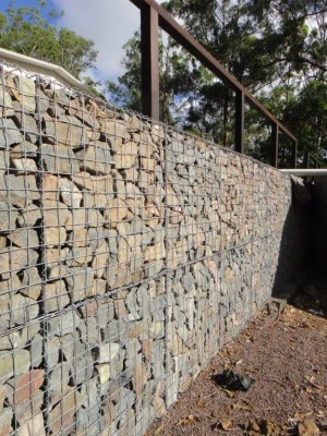 gallery of advantages of gabion cages gabion wall project gabion retaining wall gabion fence. Black Bedroom Furniture Sets. Home Design Ideas