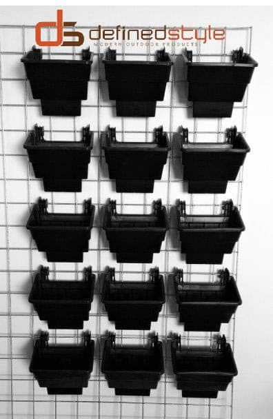 greenwalls, vertical garden, elmich, trellis mesh, mesh wall bracket, living wall