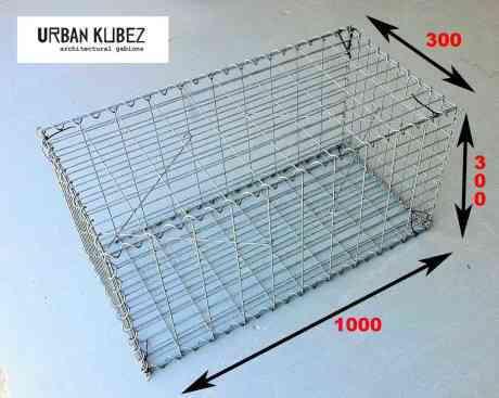 gabion cage, gabion basket, urban kubez,