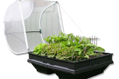 vegepod, vegepod medium, vegetable garden, organic vegetables, raised garden bed, container garden, micro garden