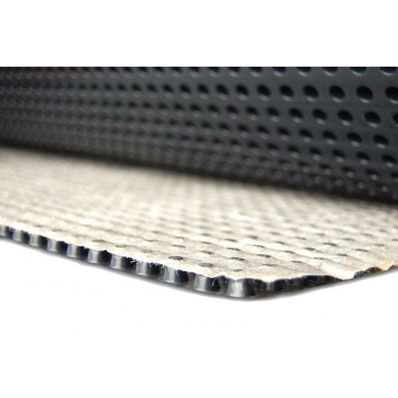 geo sheet, drain sheet, dimpled sheet, retaining wall drainage
