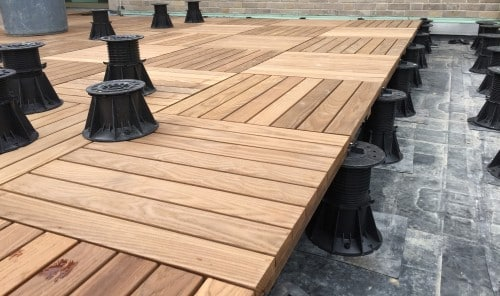 Decking Pedestal From Elmich Designed For Architectural