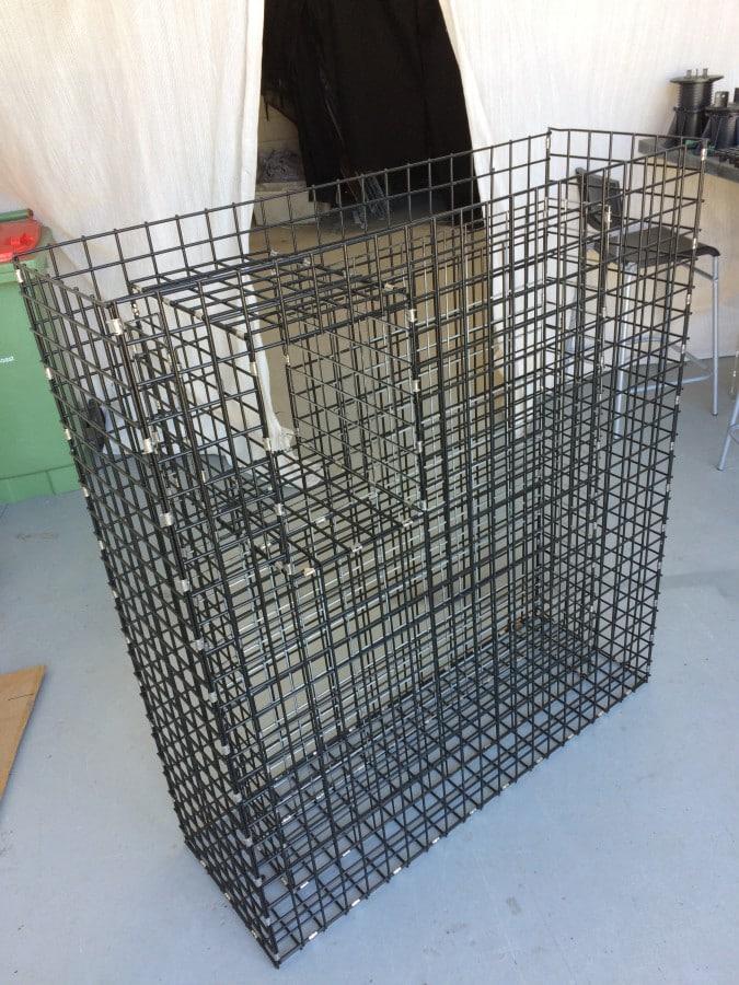 gabion, gabion letterbox, gabion cage, gabion basket, mailbox, retaining wall