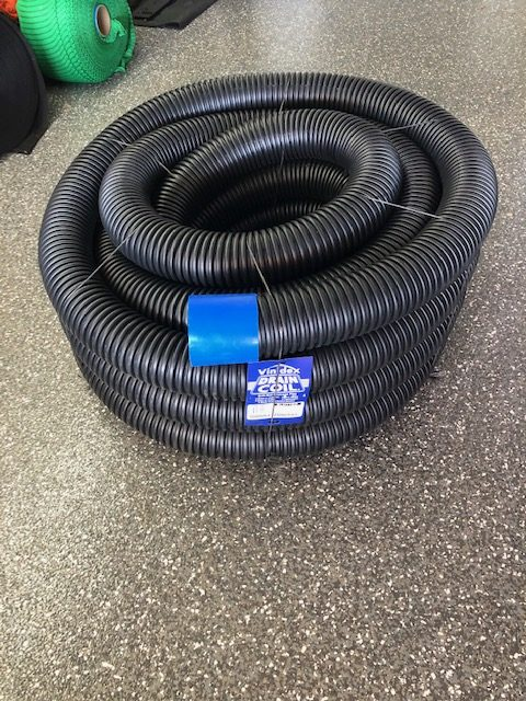 agi pipe, drain coil, poly drain, flexible drainage pipe