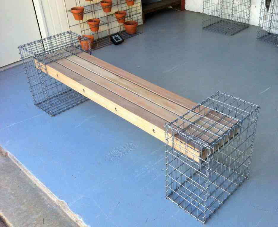 Gabion Seat | Gabion Furniture | Modern Designs