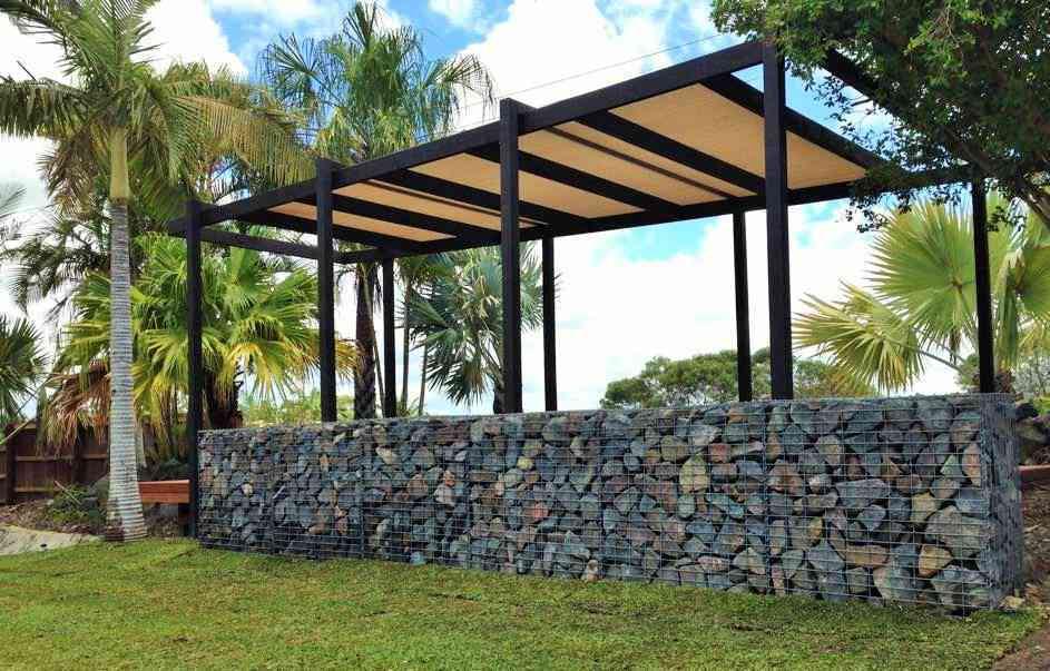 Gabion retaining wall how to build gabion walls gabion design gabion cages solutioingenieria Gallery